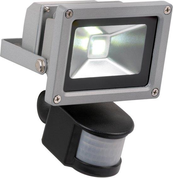 bol com   Lucide Led Flood   Buitenverlichting   LED   10W breedstraler   IR sensor   Grijs