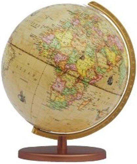 bol.com | Globe Columbus Renaissance houten voet 30cm 603016/H ...