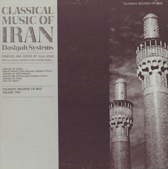 Classical Music Of Iran: The Dastgah System, Vol. 2