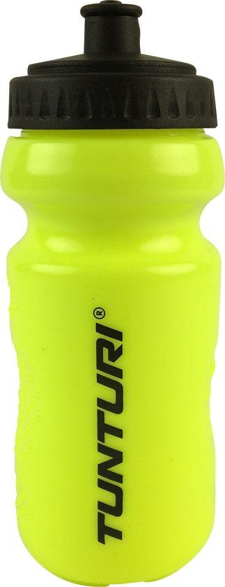 Tunturi Sportbidon - Bidon - drinkfles - Drinkbus - 500 ml Geel