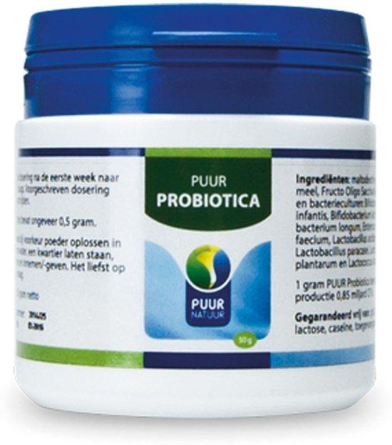 Puur Natuur Voedingssupplement Puur Probiotica - 50 gr