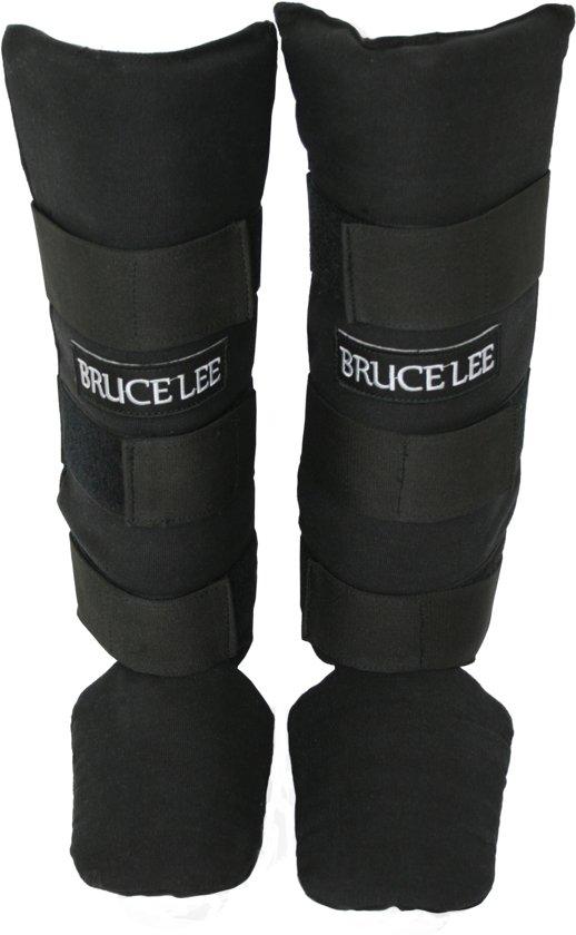 Bruce Lee Scheenbeschermers kickboksen - Shin guards - Katoen - M