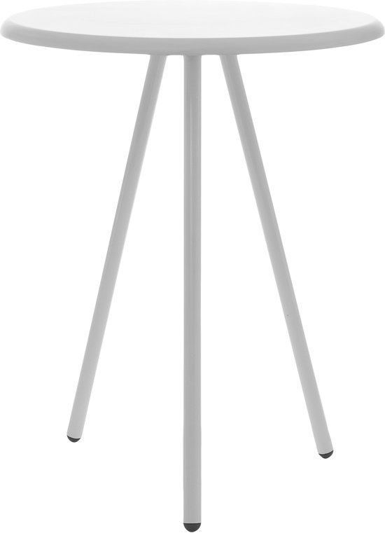 Leitmotiv Design Bijzettafel.Bol Com Leitmotiv Bijzettafel Tritable Wit 40x50 Cm