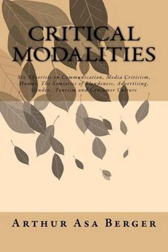 Critical Modalities