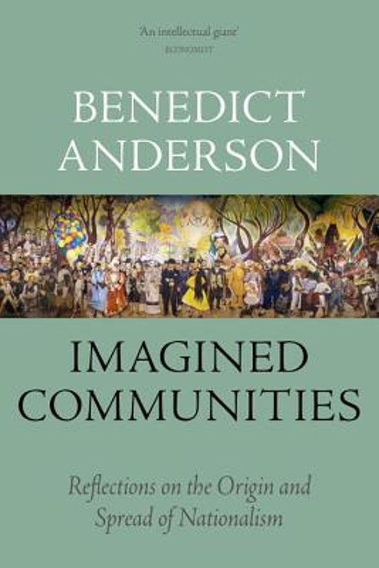 Boek cover Imagined Communities van Benedict Anderson (Paperback)