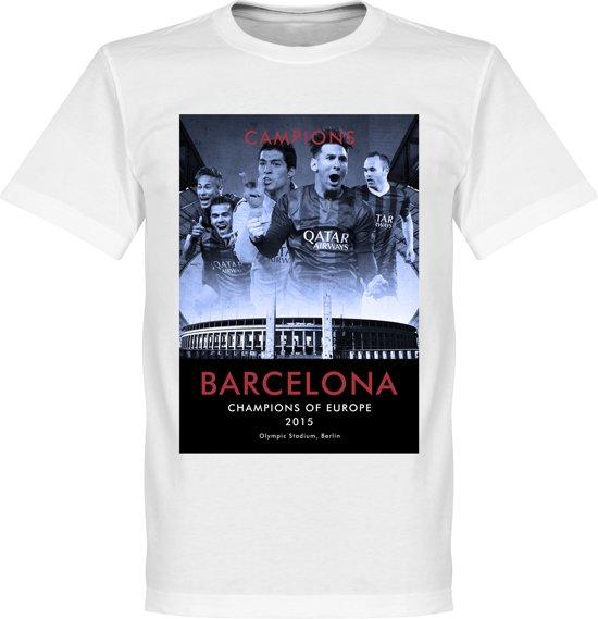 Barcelona shirt 2015 Winners T Xxxl League Champions IxwIH74