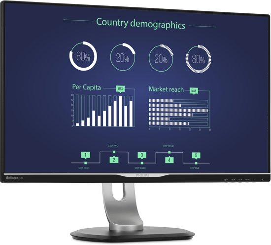 Philips 258B6QUEB - WQHD IPS Monitor