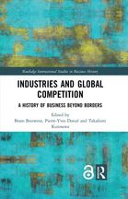 Boek cover Industries and Global Competition van  (Onbekend)