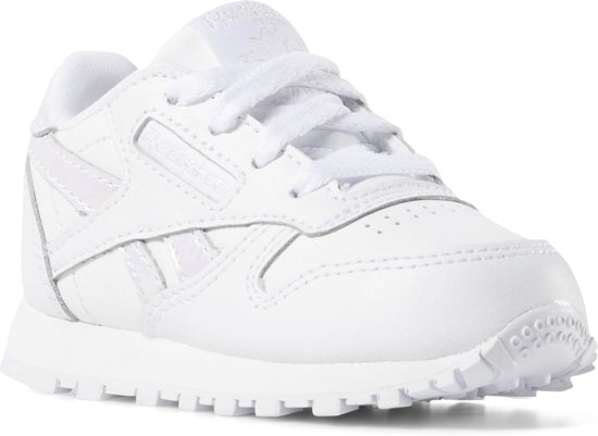 90ea940a317 Reebok Classic Leather Sneakers Meisjes - White/White - Maat 24