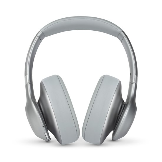 JBL Everest 710BT - Draadloze over-ear koptelefoon - Zilver