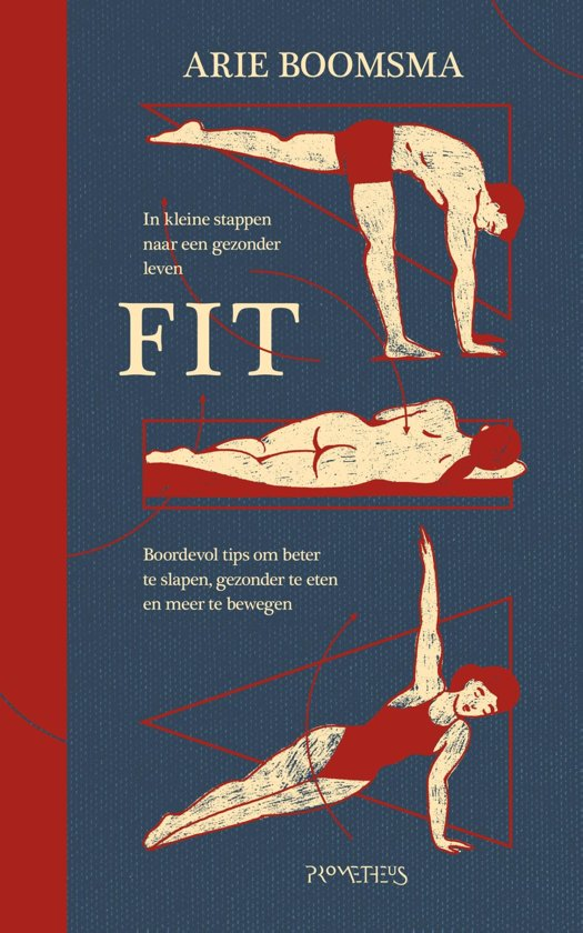 Boek cover Fit van Arie Boomsma (Onbekend)