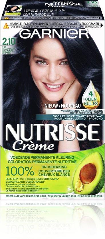 Garnier Nutrisse Crème 21 - Diep Blauwzwart - Haarverf