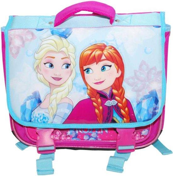 86665f81008 Disney Frozen-schooltas 15 Liter Blauw/roze 38 X 31 X 13 Cm