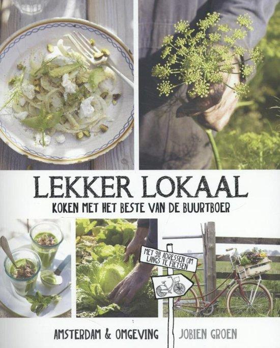 Boek cover Lekker lokaal van Jobien Groen (Hardcover)
