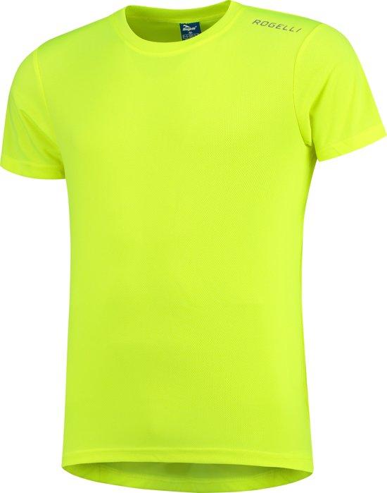 Rogelli Promo Running T-shirt - Sportshirt - Mannen - Maat L - geel