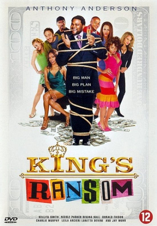 Cover van de film 'King's Ransom'