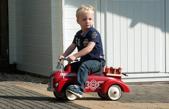 Retro Roller Sam Speedster Loopauto