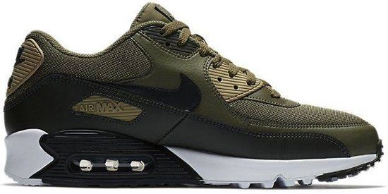 18fd584cb ... low price nike air max 90 essential sneakers maat 41 olijfgroen zwart  aj1285 d102d 63569
