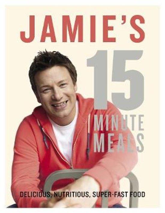 Boek cover Jamies 15-Minute Meals van Jamie Oliver (Hardcover)