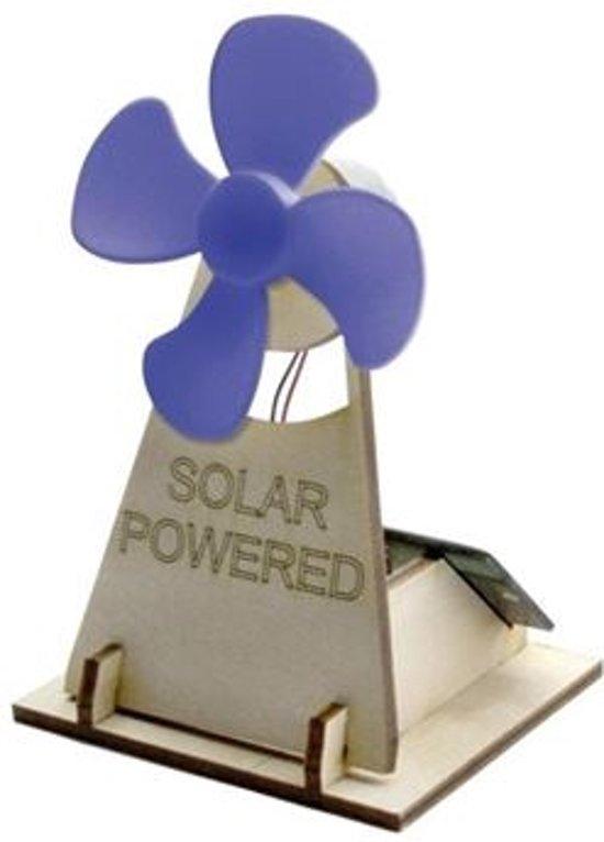 Solexpert Bouwpakket - Ventilator blauw