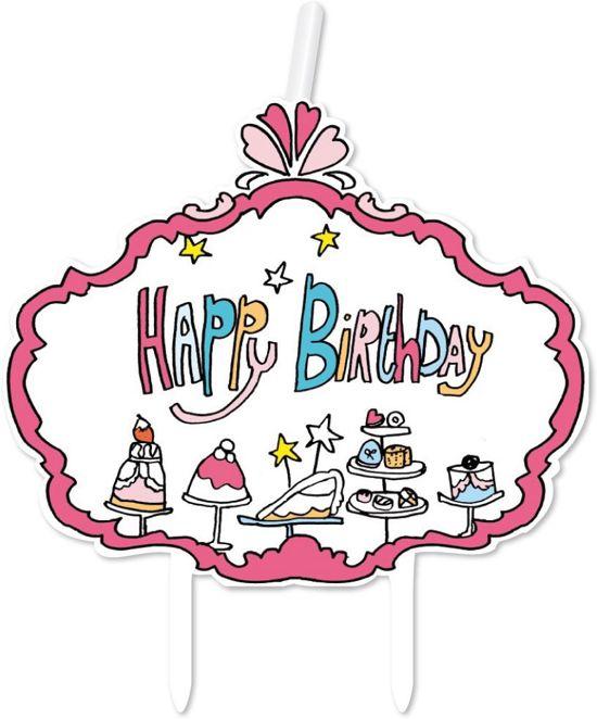 Wonderbaarlijk bol.com | Kaarsje Happy Birthday Jill, Jill | Speelgoed XW-78