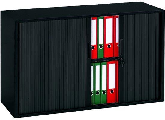 KMPRO - Roldeurkast - 72,5x120x43cm - Zwart
