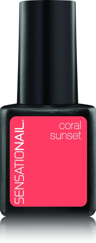 Sensationail Gel Polish - Coral Sunset - Oranje - Gel nagellak