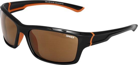 Sinner Cayo - Sportbril - UV-bescherming - Zwart/Oranje