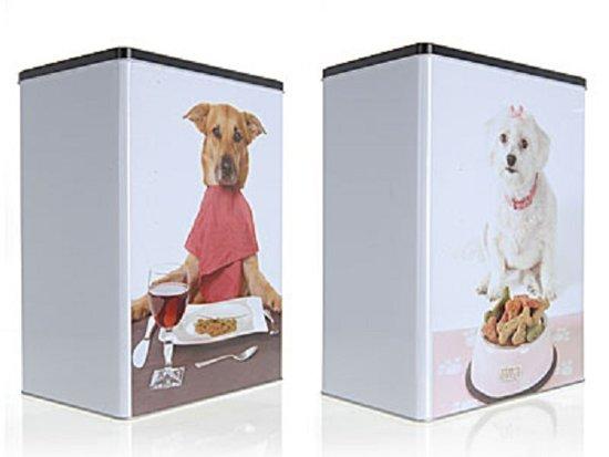 Design Voor Honden : Bol blik vierkant hond design