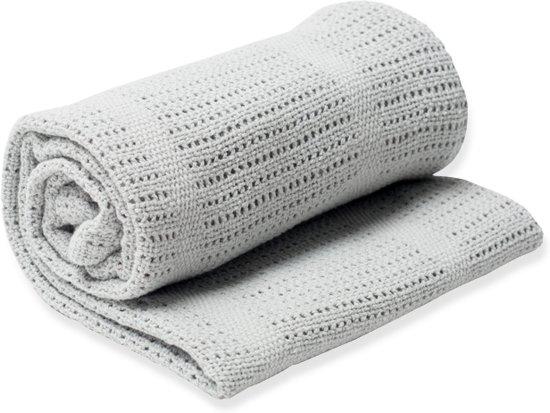 Lulujo Cellular Blanket - Grey