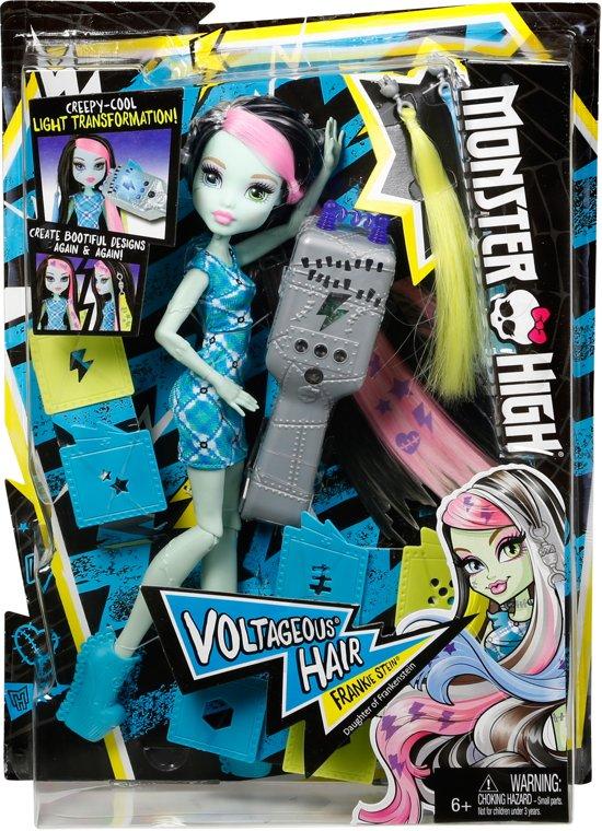 Monster High Frankie Stein met Opgloeiend Haar
