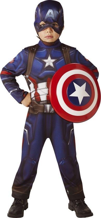 Hedendaags bol.com   Klassiek Captain America™ kostuum met schild voor UP-56
