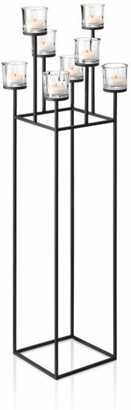 Blomus vloerkandelaar Nero 8 kaarsen 128 cm