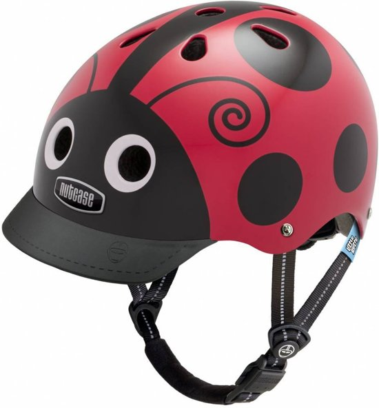 Nutcase Helm Little Nutty Ladybug Hoofdomtrek (48-52 cm)