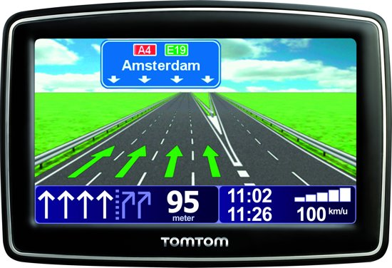 tomtom xl live iq routes v3 1 jaar live services 42 landen. Black Bedroom Furniture Sets. Home Design Ideas