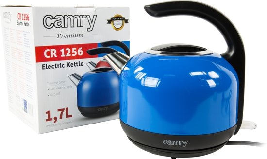 Camry CR 1256b - Waterkoker - blauw - 1.7 L