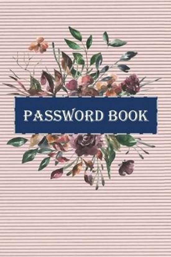 Password book: Logbook To Protect Usernames, Internet Websites and Passwords corrugated cover