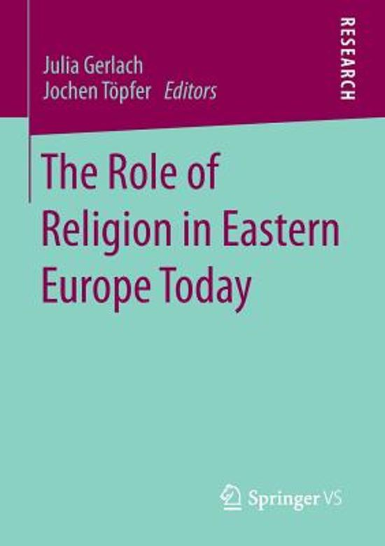 the role of religion and its importance in the european society Islam's role in an ethical society ethics of citizenship in order to face up to both its internal play a critical role in thinking about our future and.