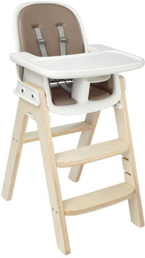 OXO Tot Sprout kinderstoel Taupe Birch