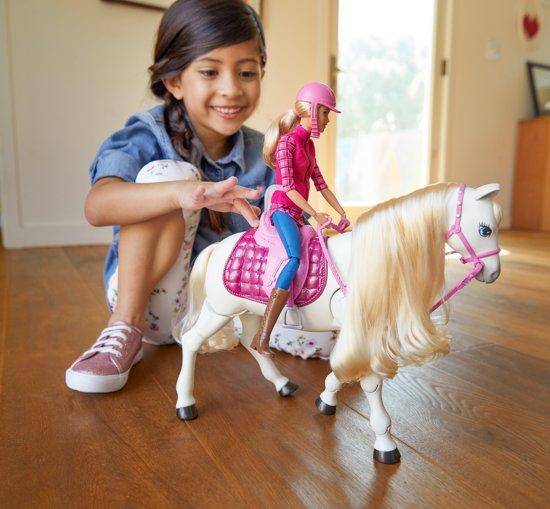 Barbie met Droompaard - Barbiepop
