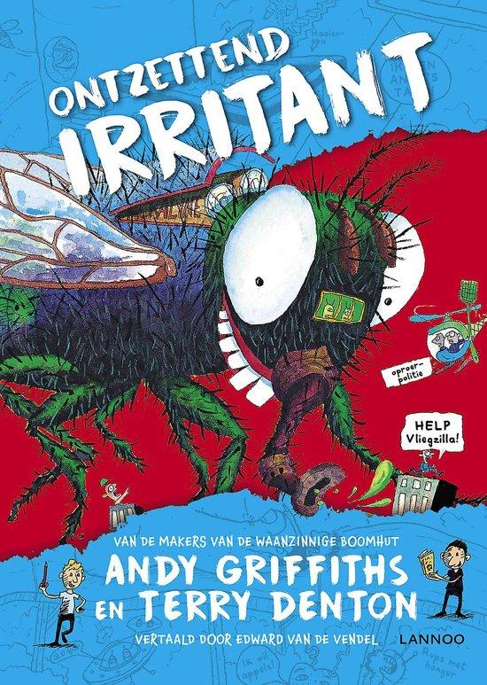 Boek cover Ontzettend irritant van Andy Griffiths (Hardcover)