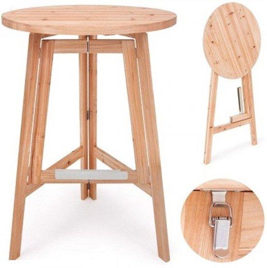 Favoriete bol.com | Statafel van massief hout invouwbaar FY87