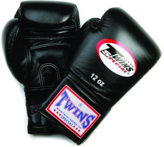 Twins bokshandschoen BGVF - Bokshandschoenen - 16 oz - Unisex - Zwart