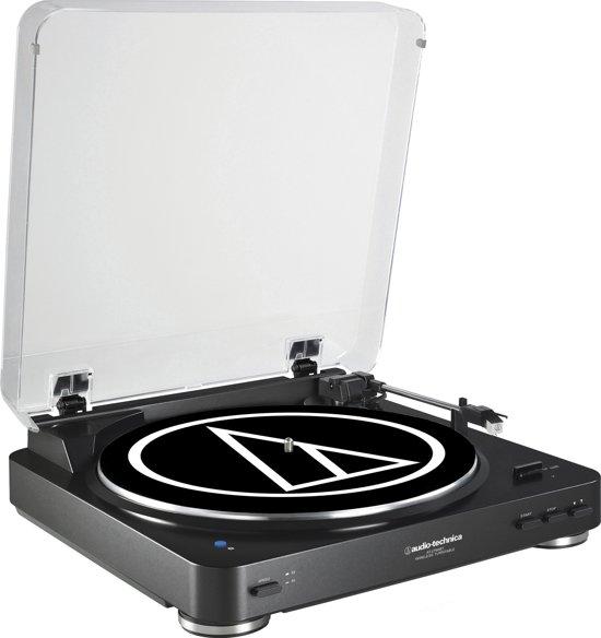Audio-Technica AT-LP60BT Draaitafel met riemaandrijving Zwart