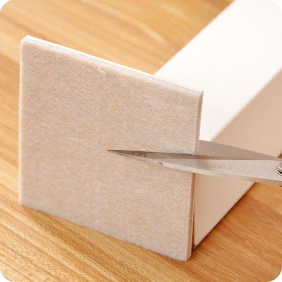 122 delige Vilt Vloerbeschermersset doos| Zelfklevende Vilt vellen | Anti-Kras vloer beschermer set | Viltjes voor stoelpoten |Vloerbeschermer Set - Antikras Vilt - Anti-Slip Stoelpoot - Viltjes met plakkant - Stoel Beschermers | Vloerbeschermer Set