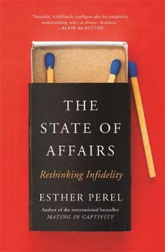 Boek cover The State Of Affairs van Esther Perel (Paperback)