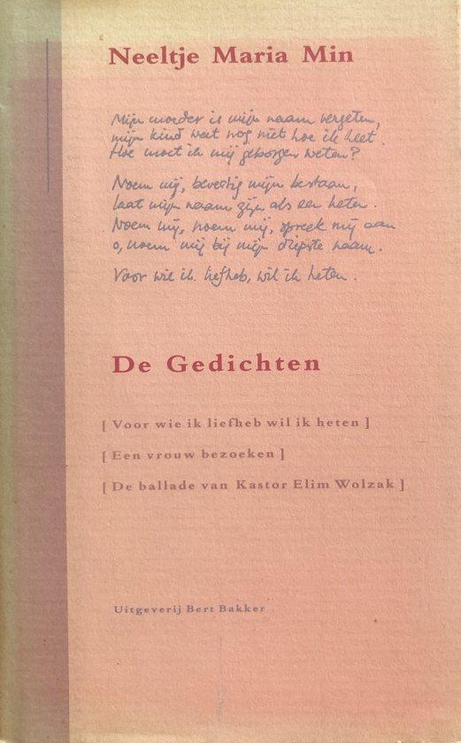 Bolcom De Gedichten Neeltje Maria Min 9789035108189
