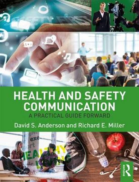 Bol Health And Safety Communication 9781138647442 Richard