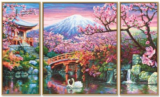 Schipper Schilderen op Nummer - Kersenbloesems in Japan