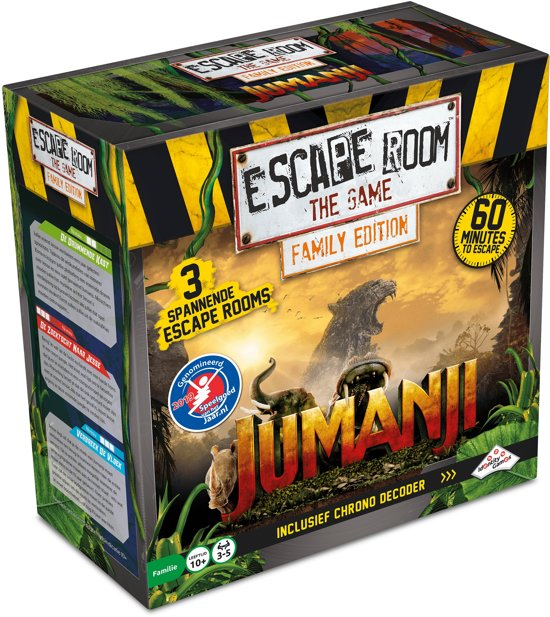 Escape Room The Game: Jumanji Family Edition